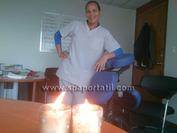 masaje en empresas caracas Movistar