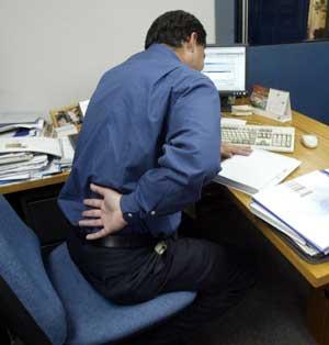 masaje oficina dolor lumbar